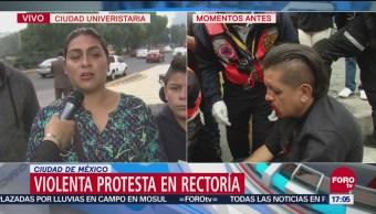 Padres de familia condenan ataque a estudiantes de la Prepa 2