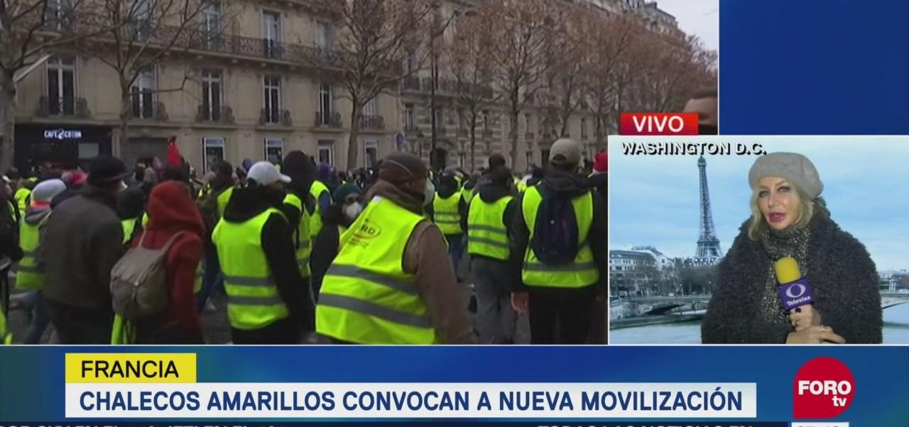 París se blinda para contener manifestación de chalecos amarillos