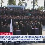 Poblanos Despiden Gobernadora Martha Erika Alonso