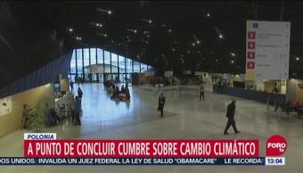 Polonia Realiza Conferencia Naciones Unidas Cambio Climático