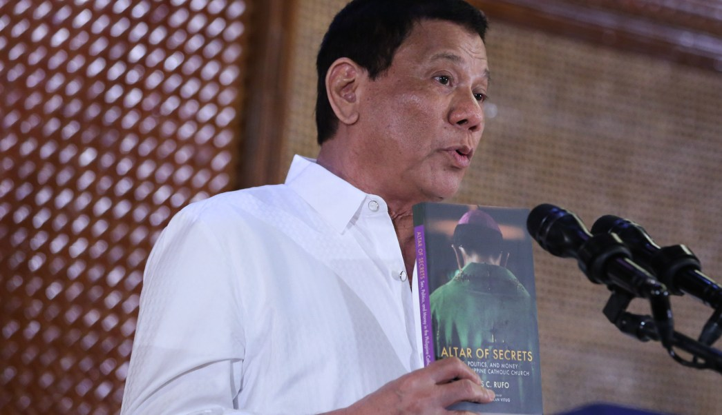 Presidente de Filipinas sugiere matar a obispos católicos