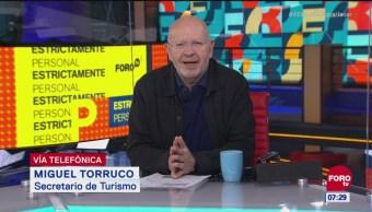 Promoción turística, continuará, pero con adelgazamiento de Sectur: Miguel Torruco