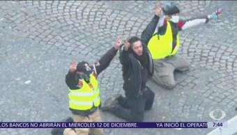 Protestas contra gasolinazo alimentan crisis política en Francia