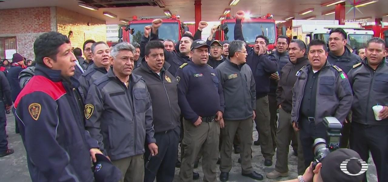Protestas Cuerpo Bomberos Capitalino Designación Nuevo Director