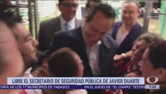 Queda libre el exsecretario de Seguridad Pública de Veracruz
