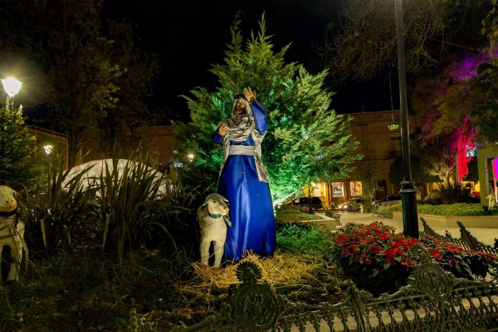 Querétaro enciende el árbol de Navidad