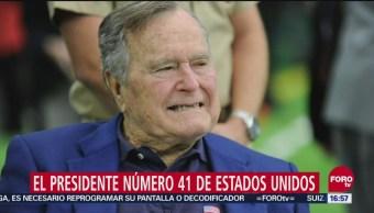 Realizan funeral de Estado para expresidente Bush