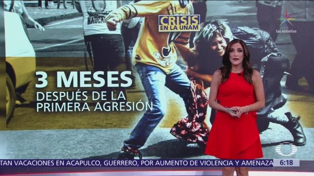 Recuento de crisis en la UNAM