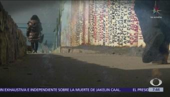 Refuerzan muro fronterizo en zona de Tijuana