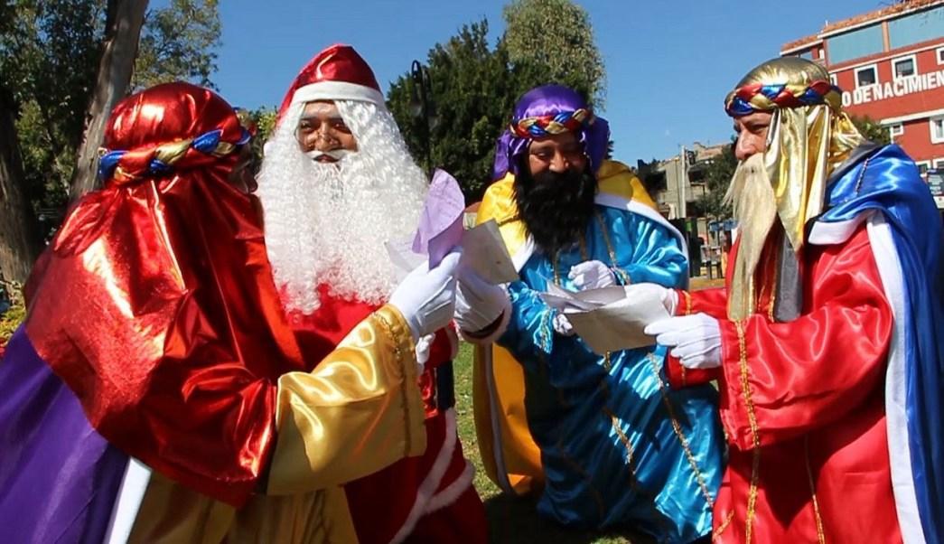 Fotos De Los Reye Magos.Reyes Magos Llegan A La Tradicional Romeria En La Alcaldia