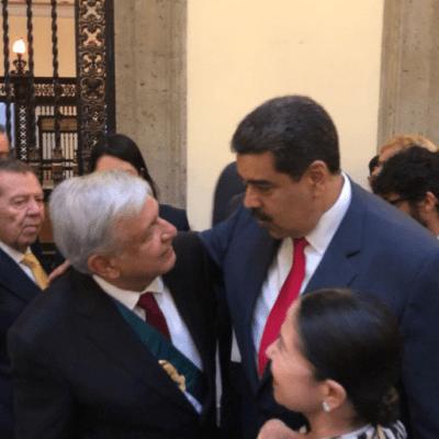Maduro reitera a AMLO disposición para trabajar con su Gobierno