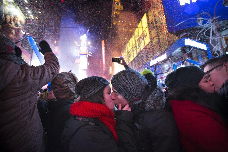 miles esperaran llegada año nuevo en times square
