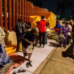 manifestantes retiran planton de la camara de diputados