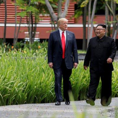 Trump prevé reunirse con Kim Jong Un a principios de 2019