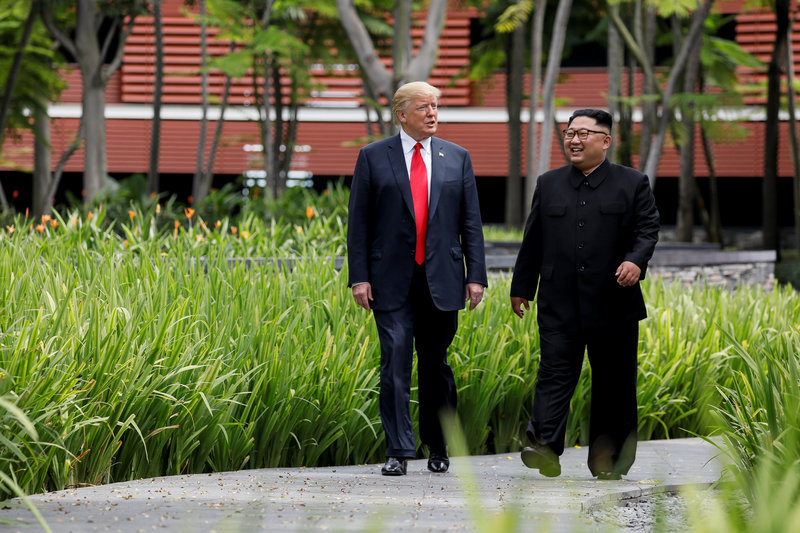 trump preve reunirse con Kim Jong Un principios de 2019