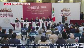 Sánchez Cordero anuncia creación de comisión de la verdad para caso Ayotzinapa