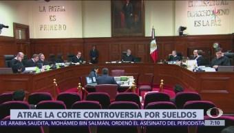 SCJN decidirá sobre amparos contra reducción de salarios en Poder Judicial