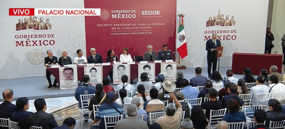 Se crea la Comisión para la Verdad del Caso Ayotzinapa. (FOROtv)