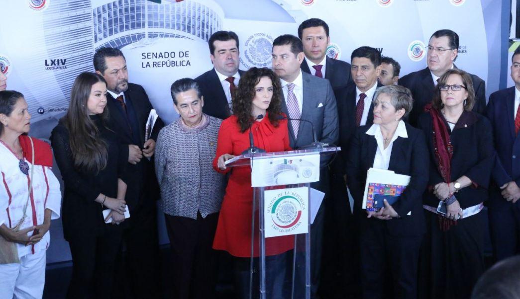Senadores de Morena apoyan anulación de elección en Puebla