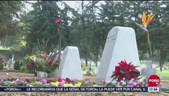 Sepultan a bebé hallado muerto en Tultepec