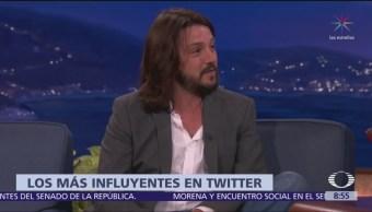 Shakira, Lucero, Carlos Vives y Diego Luna, los más influyentes en Twitter