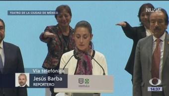 Sheinbaum, primera mujer electa para jefa de Gobierno en Ciudad de México