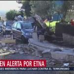 Sicilia busca declarar estado de emergencia tras erupción del volcán Etna