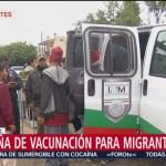 Siete migrantes piden al INM la repatración a su país