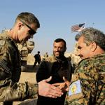 Soldados estadounidenses en Siria. (AP, archivo)