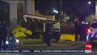 Suman 28 Lesionados Descarrilamiento Tranvía Portugal