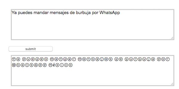 Así puedes mandar mensajes de burbuja en WhatsApp