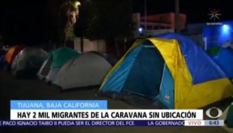 Tijuana pierde rastro de 2 mil migrantes
