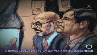 Tirso Martínez, 'El Ingeniero', declara en el juicio contra 'El Chapo'