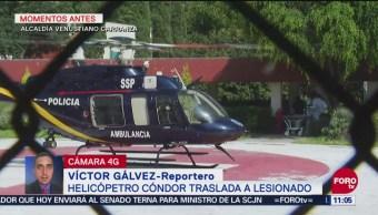 Trasladan de emergencia a Hospital de Balbuena a hombre que sufrió caída