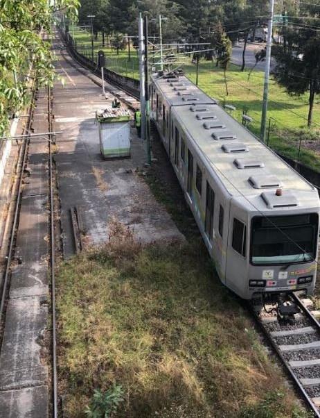 Reanudan servicio en la estación Estadio Azteca del Tren Ligero