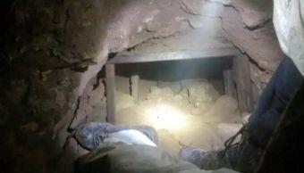 Hallan túnel en Sonora, con salida en EU