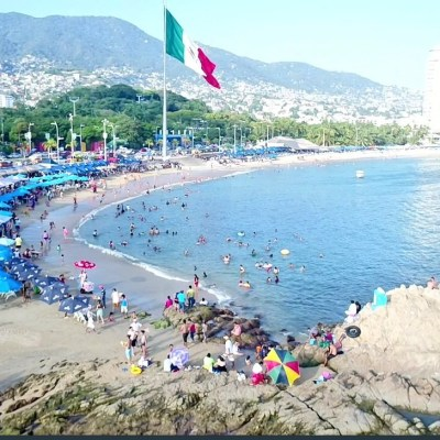 Se prevé ocupación hotelera del 100 % en Acapulco para este fin de semana