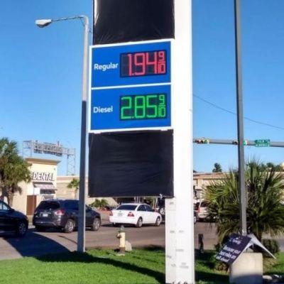 En esta ciudad la gasolina solo cuesta 10 pesos el litro