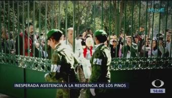 Unas 60 mil personas han visitado Los Pinos