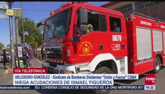 Bomberos Disidentes Analizan Demandar Ismael Figueroa