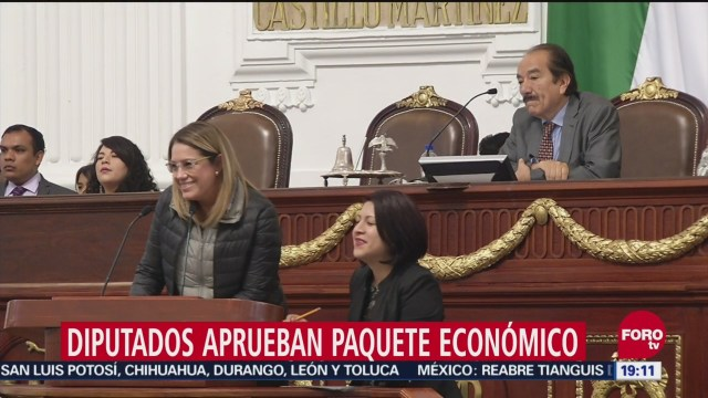 Congreso Cdmx Aprueba Presupuesto Para 2019