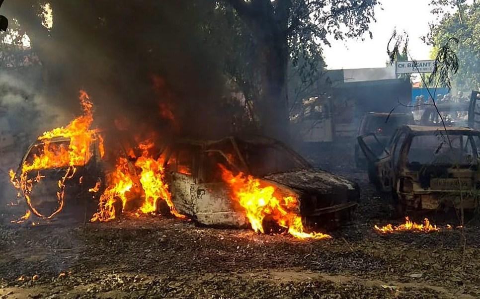 India: Muerte de vaca desata protestas; hay dos muertos