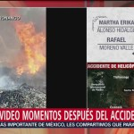 Captan Video Momento Desplome Helicóptero Gobernadora