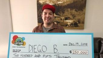 Video Hombre en situacion de calle gana la loteria