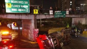Fin de semana de accidentes viales en la CDMX