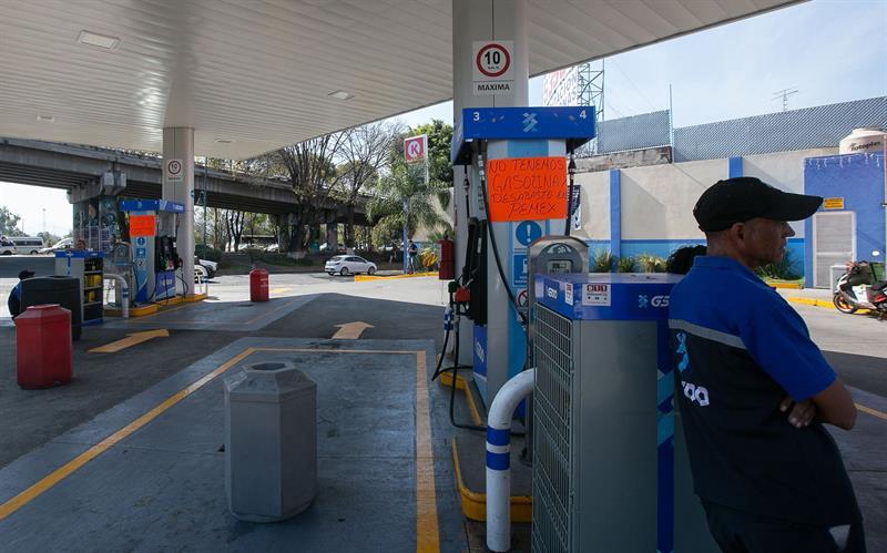 Estos son los estados con desabasto de gasolina