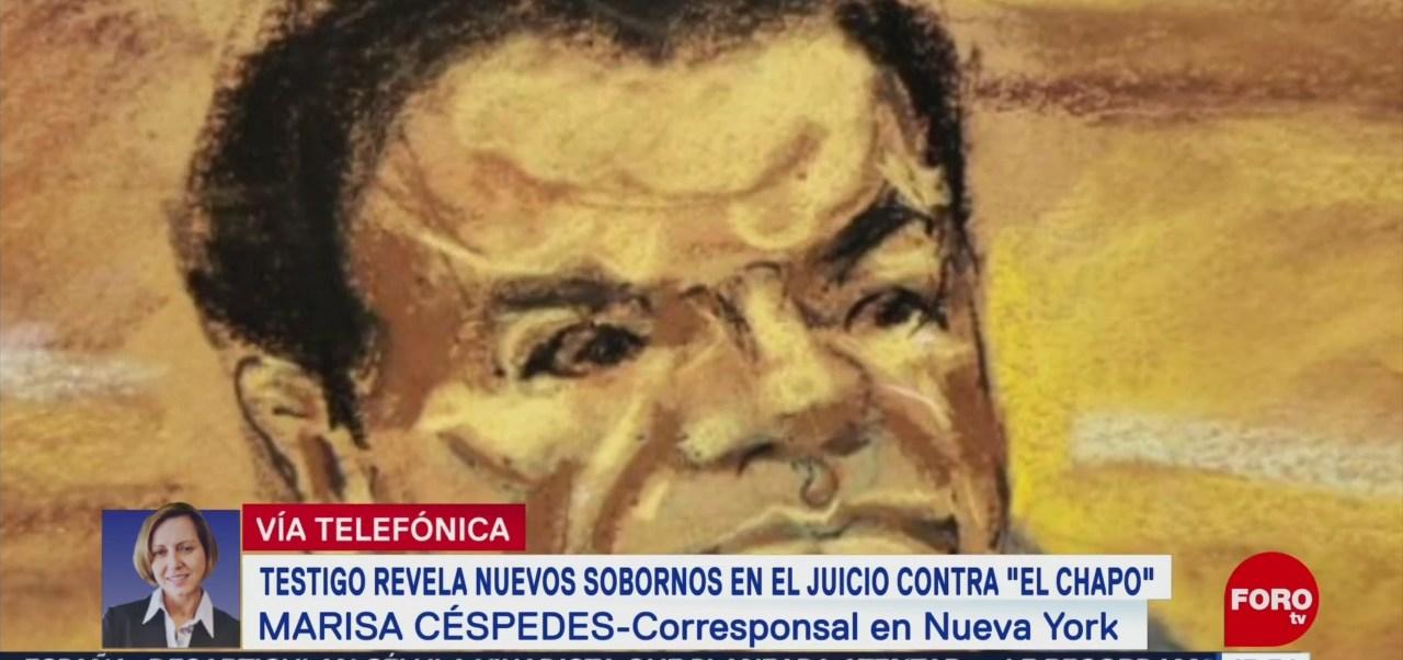 Testigo de juicio de 'El Chapo' revela presuntos sobornos a EPN