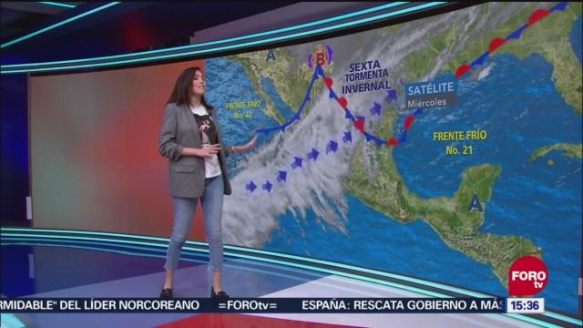 El clima de 'A Las Tres' con Daniela Álvarez