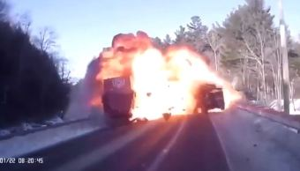 foto accidente New Hampshire 22 enero 2019