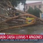 Afectaciones por frente frío 31 en Quintana Roo